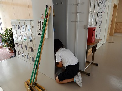 6/13(水)学校ピカピカクリーン作戦