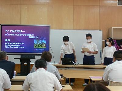 9/24(木)9年生とびうお学習発表会