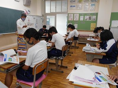 6/23(水)9年生土肥桜の講習